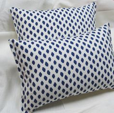 A pair of ready to use pillows 12x16. $56.00, via Etsy.