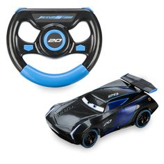Find out if Jackson Storm has what it takes to win with this awesome remote control car. Perfect for recreating Disney Pixar Cars scenes, the moulded design has true-to-character detailing and comes with a remote just like Jackson Storm's wheel. Disney Pixar Cars, Disney Toys, Remote Control Cars, Radio Control, Jackson Storm, Disney Store Uk, Kids Electronics, Baby Shower Niño, Car Accessories For Girls