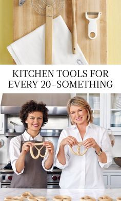 20 Kitchen Tools Every 20-Something Should Have According to Martha | Martha Stewart Living - The young chef needs a well-stocked kitchen that encourages culinary exploration. While a sous vide machine might not be necessary just yet, these are the tools that every burgeoning kitchen must have.