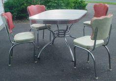 1950's Chrome Dinette Set
