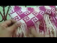 Tutorial macrame motif kalimantan part 2 - YouTube