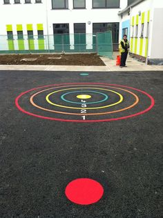 We offer a complete range of playground markings for use on any solid surface. Our playground markings are particularly useful … Playground Painting, Preschool Playground, Preschool Decor, Playground Games, Backyard Playground, Backyard Games, Recess Games, Outdoor Learning Spaces, Outside Games