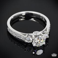 3 Stone Diamond Engagement Ring   11503