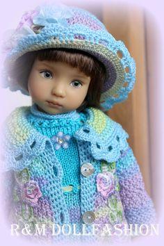"R&M DOLLFASHION - FALL LINE OOAK outfit for Effner LITTLE DARLING 13"" dolls #DiannaEffner"