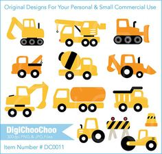 Vehicles Clip Art. by DigiChooChoo. DC 0011