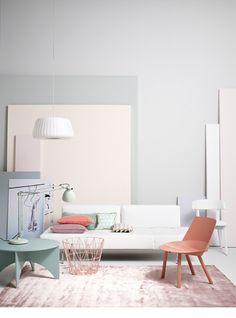 Dreamy color palette