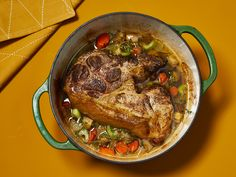 This comforting pork roast recipe is perfect for the holiday season. Bonus: The meaty flavors of the tender pork mix with the savory vegetables to create a beautifully rich gravy. Bbq Pork Roast, Pork Roast Recipes, Pot Roast, Meat Recipes, Dinner Recipes, Cooking Recipes, Cooking Games, Pork Loin, Carne Asada