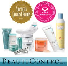 Did you know you're using one of America's Greatest Brands? Click here to see a list of some of #BeautiControl's award-winning products! #SkinCare #Makeup #Manicure #Baby
