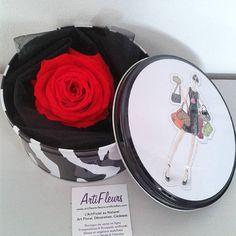 #cadeau #fleur livraison 48h, roses naturelles éternelles, ne fanent pas ! #fetedesmeres http://www.artifleurs-fleurs-artificielles.com/