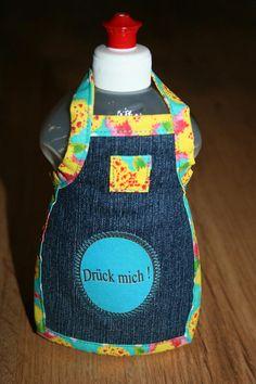 Schürze für Weinflaschen Spüliflaschen oder Seifenspender