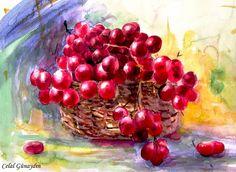 Celal Günayın Watercolor - Suluboya