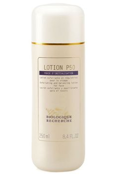 Biologique Recherche Lotion P50, as featured in ELLE. One of our favourite and most popular skincare products.