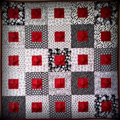 Pucker Up! It quilts as you go!