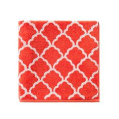 Towels Malmo Geo Bathroom Turquoise/Red/Yellow