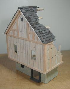 Mordheim Wooden House