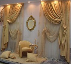 Шторы в классическом стиле фото фото Drapery Panels, Drapes Curtains, Window Coverings, Window Treatments, Dark Brown Bathroom, House Rooms, Bed Spreads, Living Room Designs, Versace