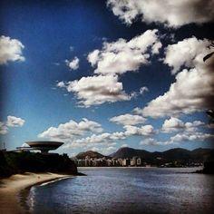 Top ten. Beleza de foto. Da cidade com mais qualidade de vida do Brasil. Niterói.