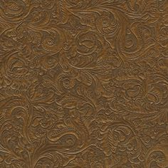 Leather wallpaper!  I'm so all or nothing- either love my whites & very muted colors or prefer the feel of a cigar-like lounge w/dark brown & other saturated dark colors