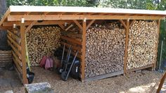 To do its job well, a firewood storage shed has to not only shelter your stacks of cordwood from the rain and snow coming from above and driven horizontally by strong winds, but do so in a way that...