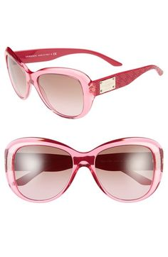 af0748dd7c Versace 57mm Retro Sunglasses available at  Nordstrom Italian Sunglasses