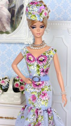 Spring Bouquet for Silkstone Barbies by HankieChic on Etsy