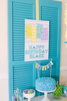 monsters university inspired party part one - Petite Party Studio