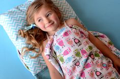 Cuddle Soft Quilt Kits, | Minky Blanket Kits - Great idea for back to school, kids, sleepovers, nap time any time... a back pack and sleeping bag mat all in one! http://www.shannonfabrics.com/