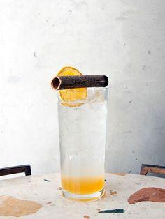 Orange and Cassia house soda