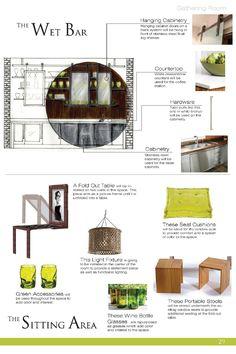 Furniture Design Presentation Board jennifer hills interior design portfolio | design, jennifer o