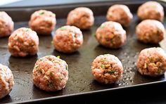 Turkey Meatballs assemble