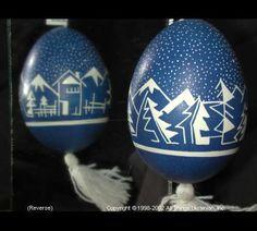 Ukrainian Easter Egg Pysanky 02-096  from the Lviv Region on AllThingsUkrainian.com