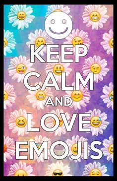 Keep calm And Love Emoji Wallpaper : 1000+ images about Keep calm and.... on Pinterest Keep calm and love, Martina stoessel and ...