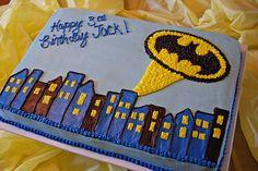 Batman Birthday Cake | Katie Perschke | Flickr
