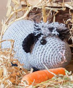 Dieses Meerschwein will bestimmt kuscheln - Anleitung via Makerist.de