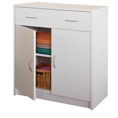 Prádelník s dvířky 4123 bílá - Komody - IDEA nábytek