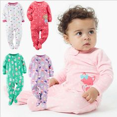 Special price 2016 Original New Arrival One-Piece Baby Boys Girls Snap-Up Sleep & Play Bodysuit Clothing Newborn 3m -12m pajamas just only $9.90 with free shipping worldwide  #babyboysclothing Plese click on picture to see our special price for you