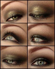 smokey eye tutorials | EDIT: mit diesem sehr schnellem und einfachen Smokey Eyes Tutorial ...