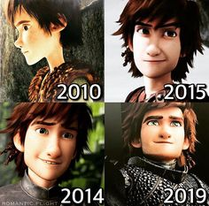 Can't wait for how to train your dragon 3 the hidden world ❤️ ~ Hiccup