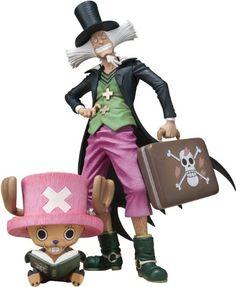 "Bandai Tamashii Nations Tony Chopper and Dr. Hiluluk ""One Piece"" Figuarts Zero Action Figure Bandai http://www.amazon.com/dp/B00C4MDDHY/ref=cm_sw_r_pi_dp_Bs64ub0K8S6XP"