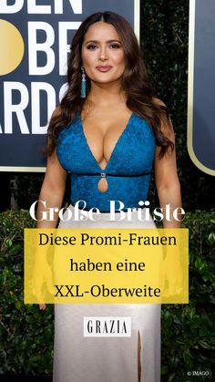 Wir haben die prominenten Damen ausfindig gemacht, die eine XXL-Oberweite vorzuweisen haben und wissen auch, wer von ihnen bereits Änderungen an seinen großen Brüsten vornahm. #grazia #grazia_magazin #Promifrauen #großeBrüste #oberweite #hotstories