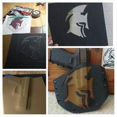 Overlay design kydex holster