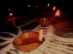 The magic of Diyas!!!