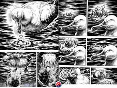 Gon Chapter 13 Lineart Gon Mini Dinosaur Manga Manga