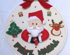 Resultado de imagem para decoração natal feltro