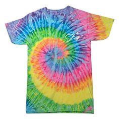 Jake Paul Rainbow Tie-Dye Shirt