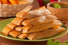 A great recipe for delicious tamales filled with succulent slow-roasted shredded beef and masa harina dough, steamed in corn husks. Mexican Dishes, Mexican Food Recipes, Mexican Desserts, Masa Recipes, Mexican Spice, Mexican Brunch, Dinner Recipes, Spanish Dishes, Mexican Breakfast