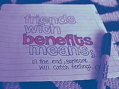What does the term friends with benefits mean  What Does