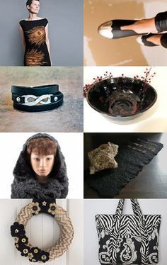 Black is Always Back by V. Dotter on Etsy--Pinned with TreasuryPin.com