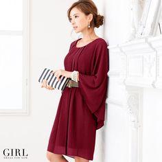 GIRL 4WAYドレス ●価格 15,984円(税込)●サイズ:1サイズ ●カラー:ワインレッド/グリーン/ロイヤルブルー/ネイビー
