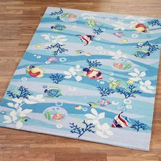 Tropical Fish Area Rugs